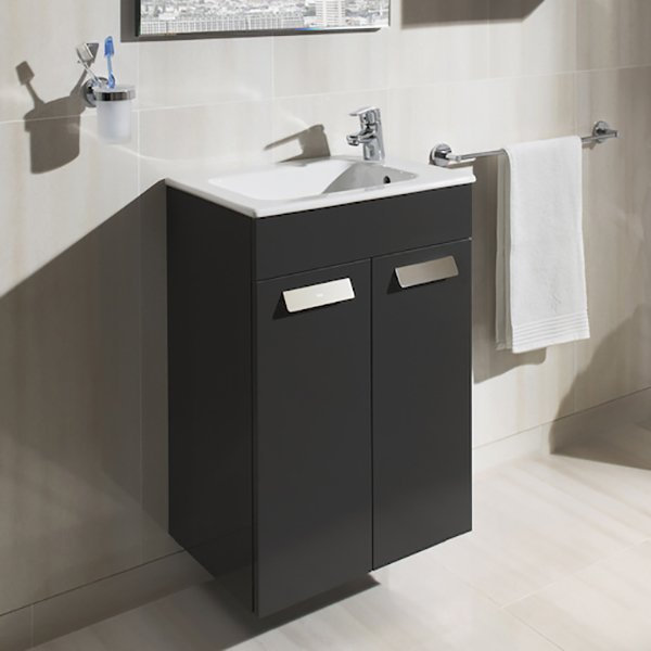Roca debba compact bathroom furniture collection global for Roca bathroom furniture
