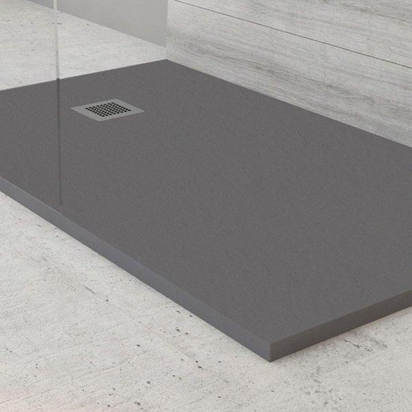 Kristal Slate Rectangular Shower Trays Global Tiles